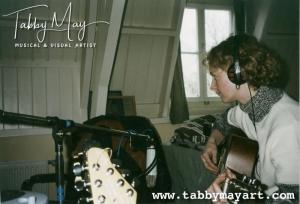 Recording at Gordon Groothedde's Studio Zutphen 2002